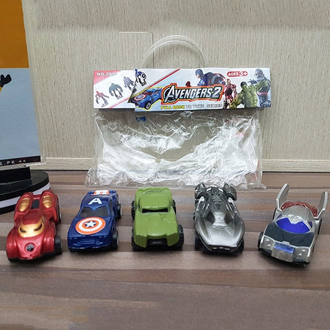Image of Avengers Dinky 5pcs Bag-399