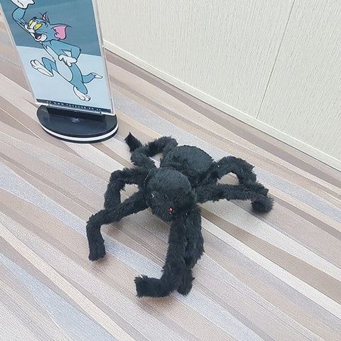 Image of Halloween Plush Happy Spider Toy