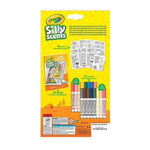 Crayola Silly Scents Marker Activity Set 30pcs