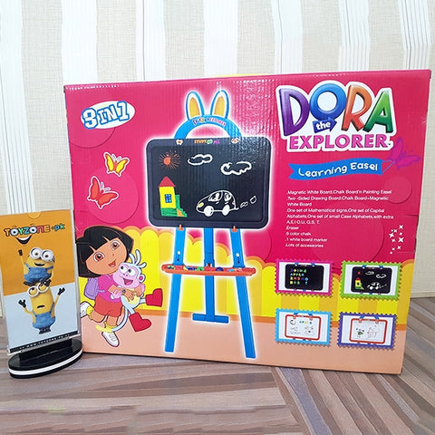 Dora Learning Easel 3in1