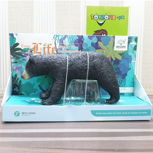 Realistic Soft 3D Zoo Animal | Black Bear