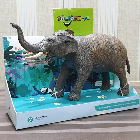 Image of Realistic Soft 3D Zoo Animal | Elephant