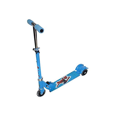 Spiderman Skate Scooter Blue
