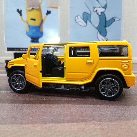 Image of Diecast Car Hummer With Light & Sound