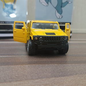 Diecast Car Hummer With Light & Sound