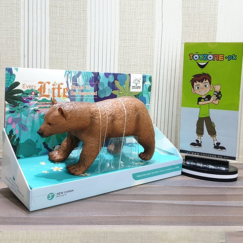 Image of Realistic Soft 3D Zoo Animal | Bear