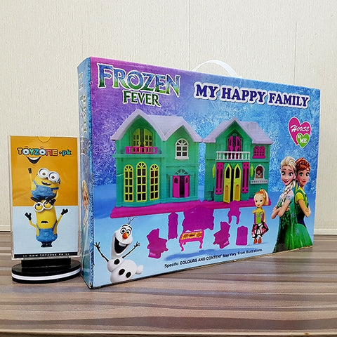 Frozen Fever Doll House With Frozen Doll