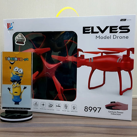 Elves Drone With Gesture Power Induction Remote-8997S