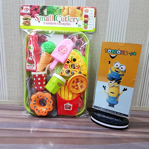 Fast Food Cut Fruit With Accessories-552-1B