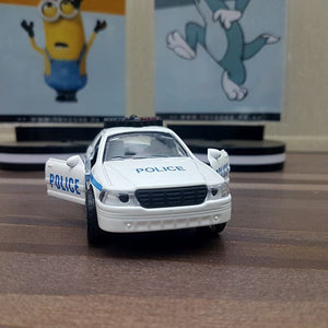 Diecast Police Car With Light & Sound