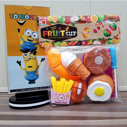 Image of Fruit Cut Game Fast Food
