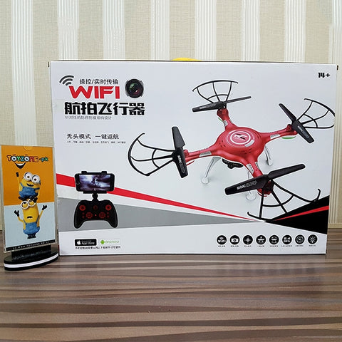 Image of Remote Control Drone With Wifi Camera