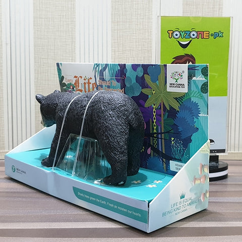 Image of Realistic Soft 3D Zoo Animal | Black Bear