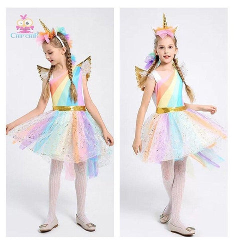 Image of Halloween Unicorn Costume for Girls