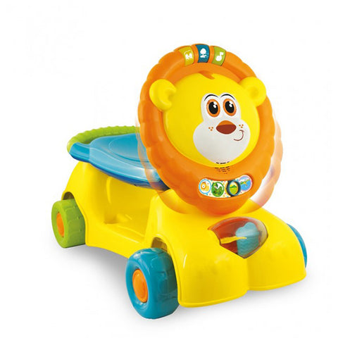 Winfun 3 in 1 Lion Ride In Scooter--0855