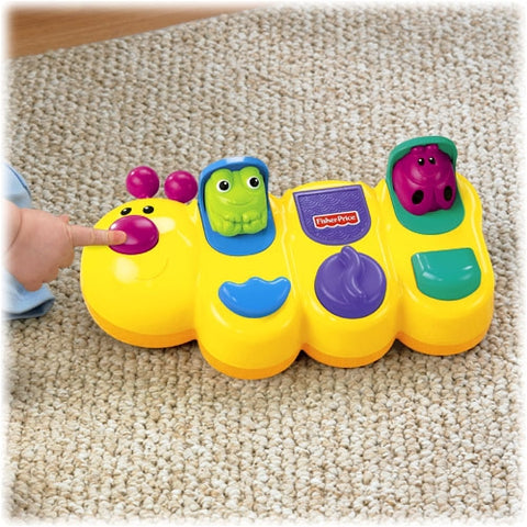 Image of Fisher Price Caterpillar Popup-GCM80