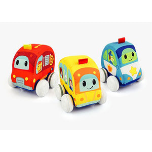 Winfun The Go Pull Back Soft Car--3185-01