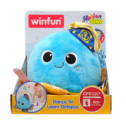 Image of Winfun Dance 'N Learn Octopus-0199