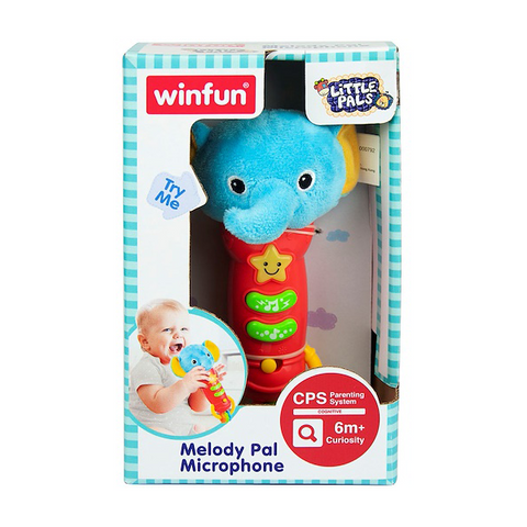 Image of  Winfun Elephant Melody Pal Microphone-0792