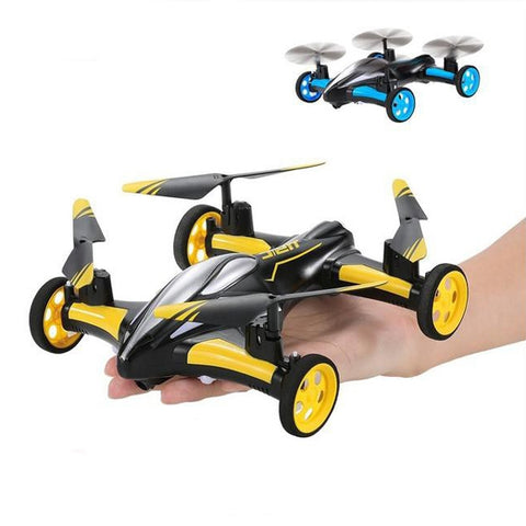 Remote Control Quadcopter With Flying Car