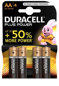Batterie - Pile Duracell (AA) per Dispositivi Elettronici H24 - FOR ME H24
