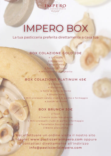 Impero Box Colazione e Brunch H24 - FOR ME H24