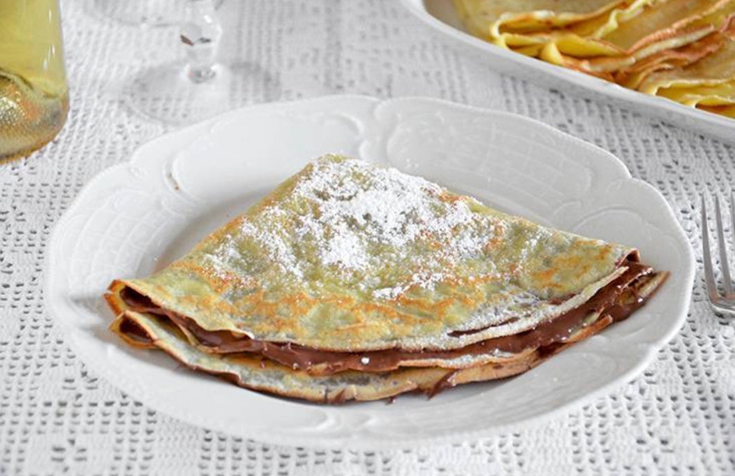 Crêpes con Nutella H24 - FOR ME H24