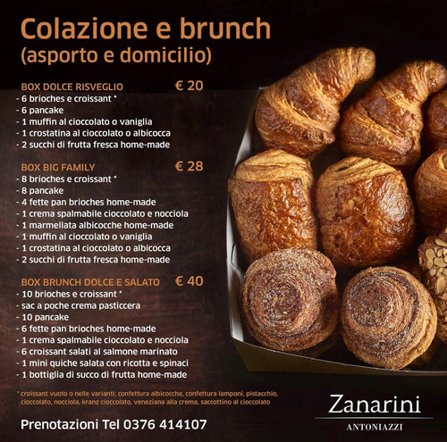 Box Colazione Brunch H24 - FOR ME H24