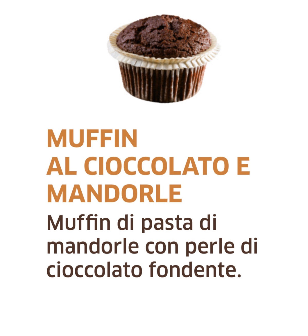 Muffin al Cioccolato e Mandorle H24 - FOR ME H24