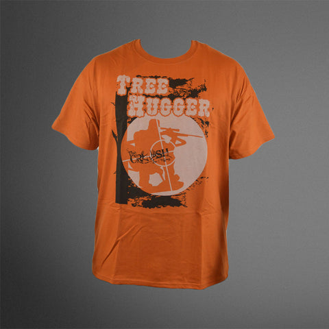 Tree Hugger Orange Tee