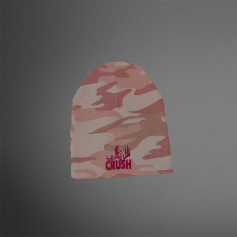Infant Cap Girls Pink Camo/Pink Born to Crush