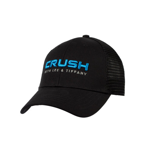 Black CRUSH Snapback
