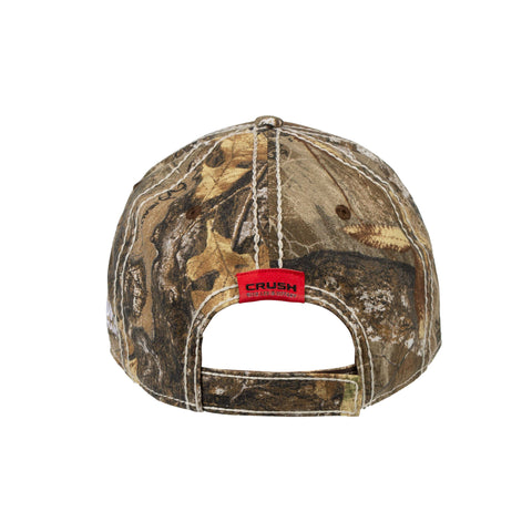 New Camo Back CRUSH Hat