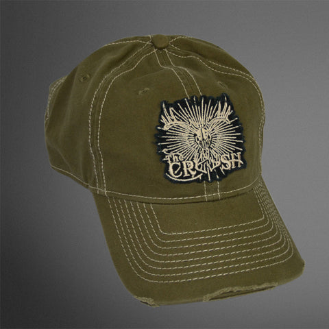 Crush Arrow Patch Olive cap