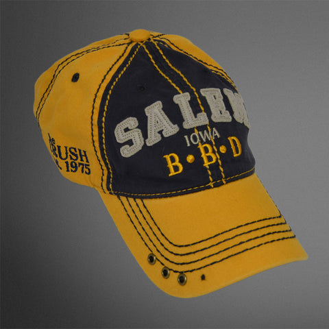 SALEM IA Gold navy cap
