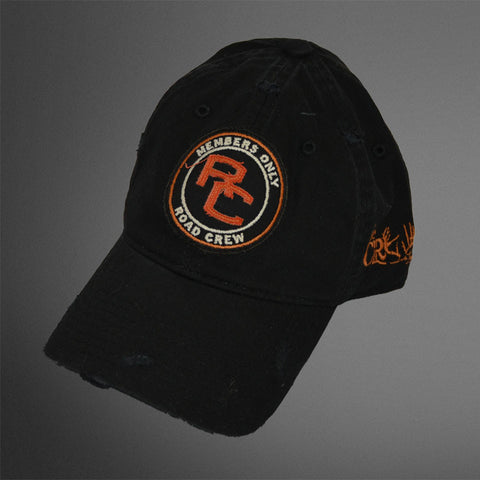 Road Crew black caps