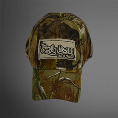 camo cap frayed khaki Crush patch