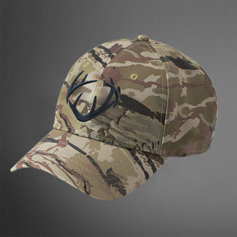 Under Armour Barren Camo 2.0 Cap w/ CRUSH Antlers