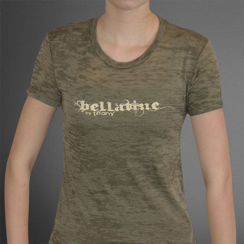 Bellatine by tiffany olive burnout tee