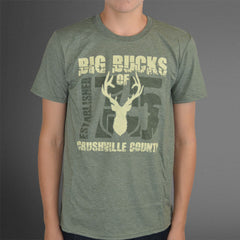 Crushville County green tee
