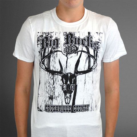 Crushville County white skull tee
