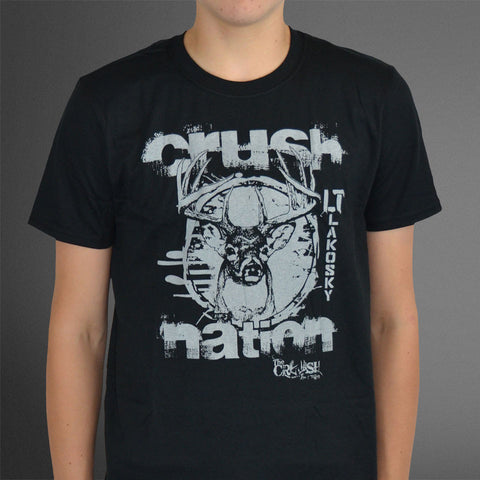 Crush Nation Black tee
