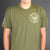 Crushville Military Style Green Tee