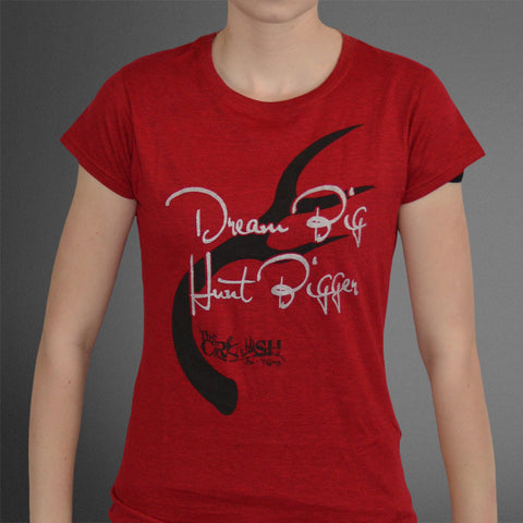 Dream Big Hunt Bigger Red tee