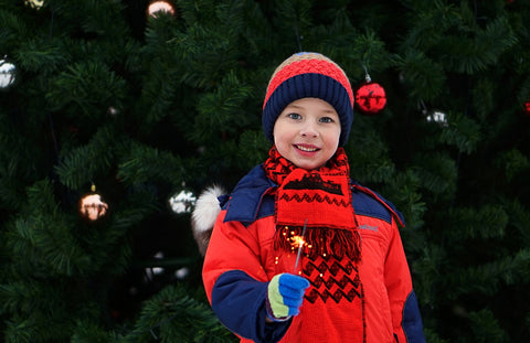 Layers are important when dressing up your child fashionably during winter