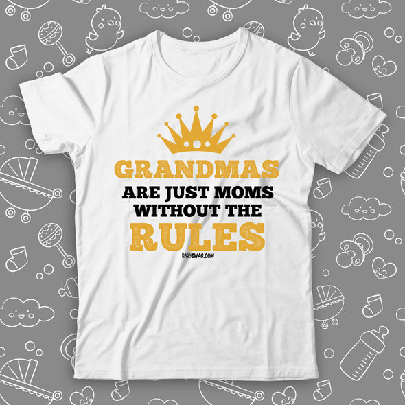 Grandmas Are Just Moms Without The Rules