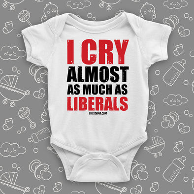 I Cry Almost As Much As Liberals