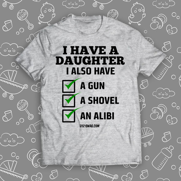 I Have A Daughter Checklist