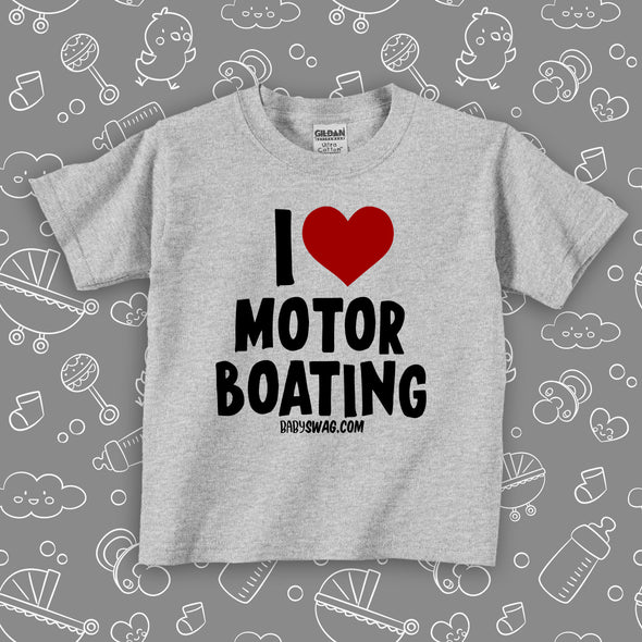 I Love Motor Boating (T)