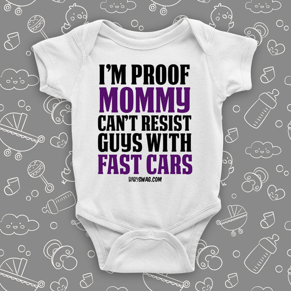 I'm Proof Mommy Can't Resist Guys With Fast Cars